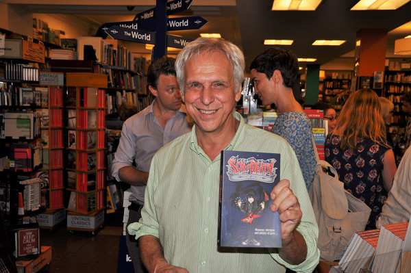 Mark Rubbo with Son of Death